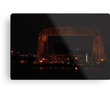 Ariel Lift Bridge Metal Print