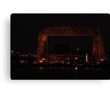Ariel Lift Bridge Canvas Print