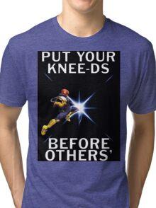 Captain Falcon - Your Knee-ds Tri-blend T-Shirt