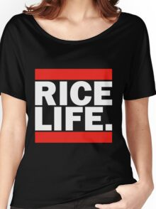 RICE LIFE Women's Relaxed Fit T-Shirt