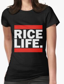 RICE LIFE Womens Fitted T-Shirt