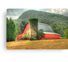 Tiger Mountain Winery's Red Barn Canvas Print