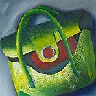 Green Handbag by MIchelle Thompson