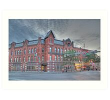 The Cortland Standard Newspaper, Cortland, NY Art Print