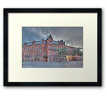 The Cortland Standard Newspaper, Cortland, NY Framed Print