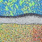 Tropical Abstract by Richard Klekociuk