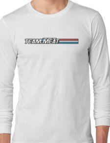 TEAM.MEAT : A Real Meaty Hero Long Sleeve T-Shirt