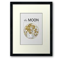 Golden Moon Framed Print