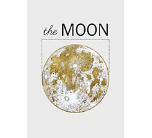 Golden Moon Photographic Print