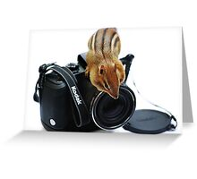 """Rule #1:   """"Always Remove The Lens Cap""""... Greeting Card"""