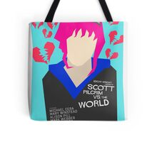 Scott Pilgrim Verses The World - Saul Bass Inspired Poster (Untextured) Tote Bag