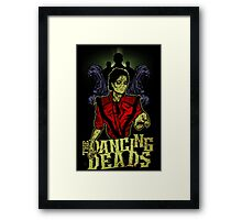 The Dancing Deads Framed Print
