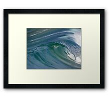 Curvaceous Water Framed Print