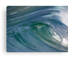 Curvaceous Water Canvas Print