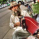 Street Music Man by KBritt