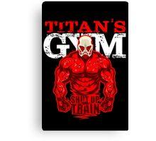 Titan's GYM Canvas Print
