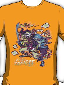 Adult Robot Vampire Ninja Ghost Zombie T-Shirt