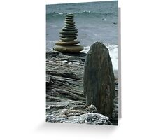 Stone to Stone Greeting Card