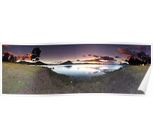 """Moogerah Cove"" ∞ Lake Moogerah, QLD - Australia Poster"