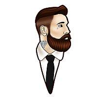 Beards Are Sexy Photographic Print