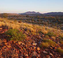 Sunrise overlooking Mount Sonder by Linda Fury