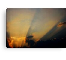Summer Rays Canvas Print