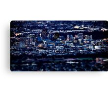 Big City Lights In Adelaide Canvas Print