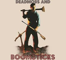 Deadmobs and Boomsticks Unisex T-Shirt