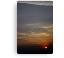 Sunspot Canvas Print