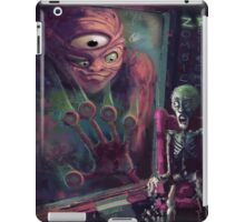 Halloween at the Zombie Retirement Home iPad Case/Skin
