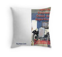 Don't mention the dipstick Throw Pillow