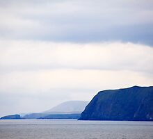 shetland islands, headlands, cruise, ocean by Milbourne