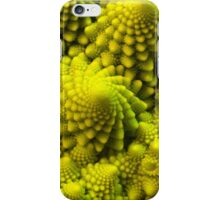 Fibbonaci Pattern in Romanesco brocolli iPhone Case/Skin