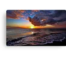 Venetian Sunset - Brouhard Beach, FL Canvas Print