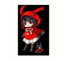 Anime Chibi 4. Art Print