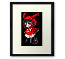 Anime Chibi 4. Framed Print