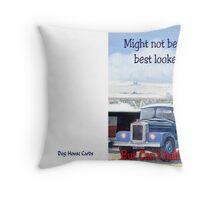 Not the best looker Throw Pillow