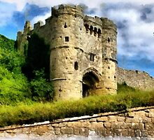 Beautiful Britain - Carisbrooke Castle, Isle of White by Dennis Melling