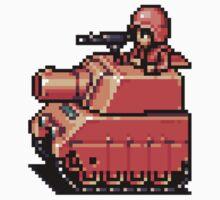 Advance Wars Tank by TooManyPixels
