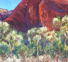 Uluru - Mutijulu Waterhole by Terri Maddock