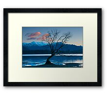 Dawn on Lake Wanaka Framed Print