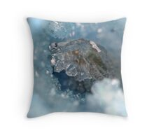 Crystaline 2  Throw Pillow
