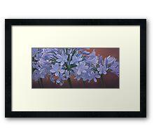 Love Flowers Framed Print