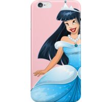 Asian Princess in Blue Dress iPhone Case/Skin