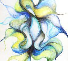 Floetic Tones in Blue by Gloria Amaku-Inyang