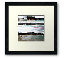 Diggers Beach, NSW Australia... (Coffs Harbour) Framed Print