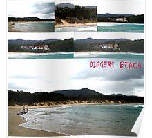 Diggers Beach, NSW Australia... (Coffs Harbour) Poster
