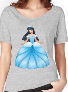 Asian Princess in Blue Dress Women's Relaxed Fit T-Shirt