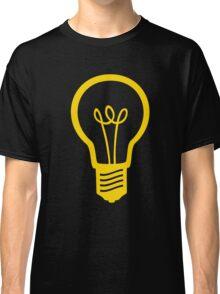 Attention Lightbulb Classic T-Shirt