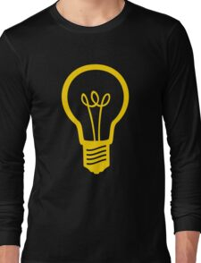 Attention Lightbulb Long Sleeve T-Shirt